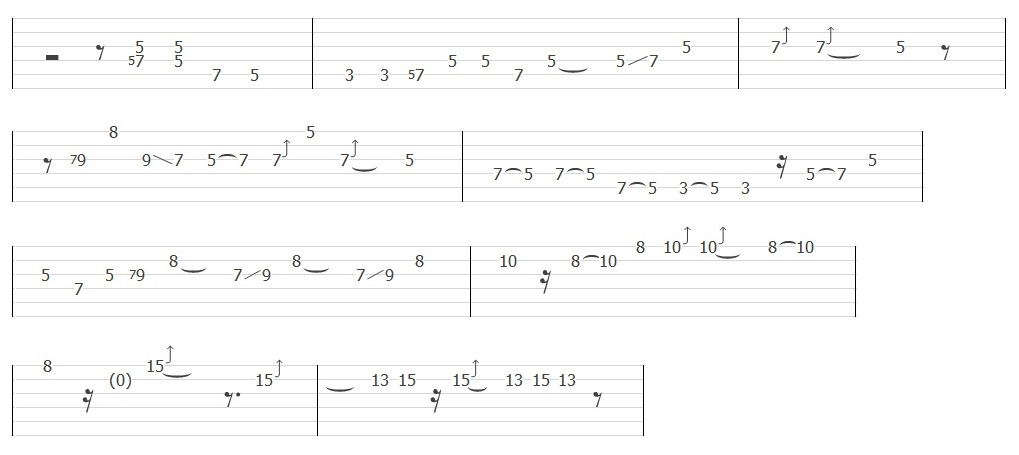 The Beatles - Let It Be (Solo Tab)