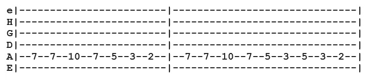 The White Stripes - Seven Nation Army (TAB)